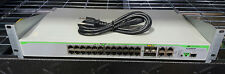 ALLIED TELESIS AT-9000/28 GIGABIT ETHERNET SWITCH 4 COMBO SFP PORTS W/POWER CORD