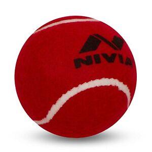 Nivia Cricket Tennis Ball Pack of 12