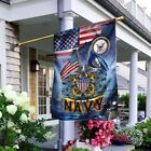 United States Navy America Gift For Veteran - Garden Flag / House flag