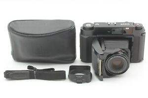 【 N MINT w/ HOOD 】 Fuji Fujifilm GF670 BLACK Pro Medium Format Camera from JAPAN