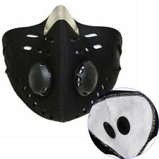 Outdoor Motocycle Bicycle Cycling Ski Half Face Cover w/ Extra Filter Breathable