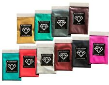 BLACK DIAMOND Mica Powdered Pigment  -- Variety Pack #5  *10 Colors*