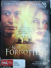 Not Forgotten (DVD, 2010) Simon Baker - Prayers Of The Dead - Free Post!