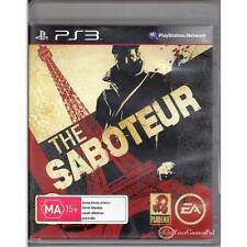 PLAYSTATION 3 SABOTEUR, THE PS3  DUAL SHOCK 3 [ULN] YOUR GAMES PAL