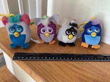 4 Plush Furby Keychain Toys McDonald's 2000