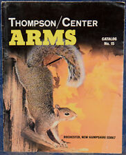 Thompson/Center ARMS Catalog No.15, 1988 !!! RIFLES, SHOTGUNS, PISTOLS...!!!