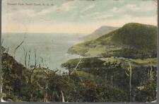 Stanwell Park, New South Wales, Australia - postcard, NSW stamp 1907 pmk