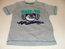 2011-12 Vancouver Canucks Youth XL Crest Logo T Shirt Child Kids NHL Hockey