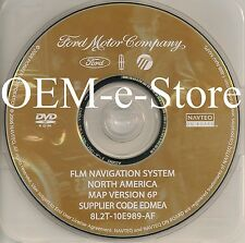 2007 2008 Ford Expedition Eddie Bauer Limited GPS Navigation DVD Map U.S Canada