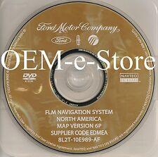 6P Update 2007 2008 Expedition & EL Eddie Bauer Limited XLT Navigation DVD Disc