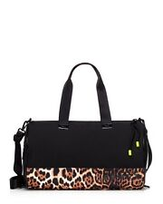 JUICY COUTURE BLACK LEOPARD DUFFLE BAG ORG. $128.00 BNWT