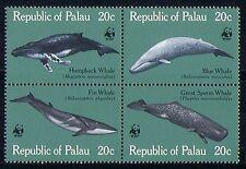 Palau 1983 WWF/Whales/Marine/Nature/Wildlife blk n30091