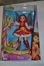 2014 DISNEY FAIRIES THE PIRATE FAIRY - ROSETTA VHTF !!