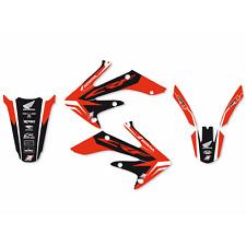 adesivi grafiche Honda Crf r 250 2004 2005 2006 2009 Crf x 250 2007 - 2017 moto