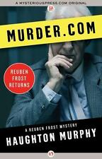 Murder.com (The Reuben Frost Mysteries)-ExLibrary
