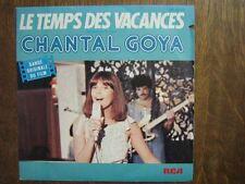 CHANTAL GOYA 45 TOURS FRANCE LE TEMPS DES VACANCES+