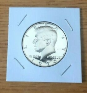 1970 S Kennedy Mint Proof Half Dollar  40% Silver, From Proof Set