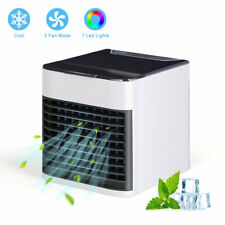 Portable Mini Air Conditioner Cool Cooling Bedroom Artic Cooler USB Fan Desktop