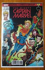 The Mighty Captain Marvel #1 Todd Nauck Brain Trust color variant NM