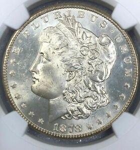1878-S NGC MS64 Morgan Silver Dollar $1 ~ Mirrored Fields ~ Casino Hoard Gem
