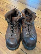 Men's Vintage GBX Boots - Brown Size 12 M Pre Owned 90's