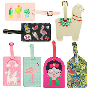Luggage Tag Bag Label Suitcase Security Contact Baggage ID Travel Accessory Gift