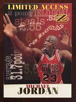 "1997 Skybox Z-force ""Limited Access"" #6 Michael Jordan"