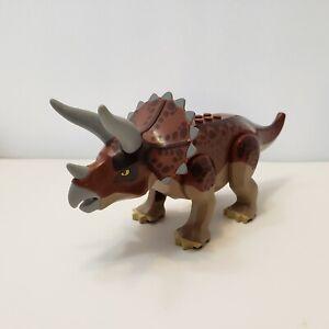 auth LEGO minifigure Dark Tan & Reddish Brown Triceratops Dino Trapper 5885