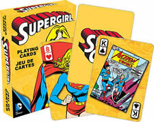 DC Comics Supergirl Comic Art Illustrated Playing Cards 52 Images NEW