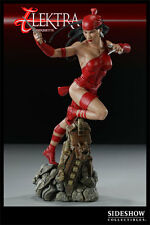 Elektra figura Sideshow Marvel Elektra Comiquette Rojo estatua Estatua