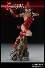 ELEKTRA FIGURE SIDESHOW  Marvel Elektra Comiquette Red Statue  Statue