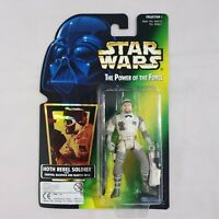 Star Wars POTF Hoth Rebel Soldier Kenner Carded Figure 1996