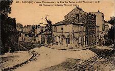 CPA Paris 18e Vieux Montmartre La Rue des Saules et de l'Abreuvoir (284516)