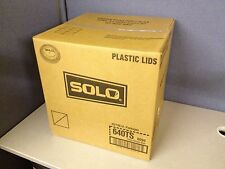 Case of 2500 Solo 640Ts Clear Cold Cup Plastic Lid for M22 Sd35 Tp22 Y12