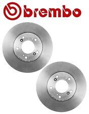 NEW Set of 2 Front Disc Brake Rotors Brembo 45251S2HN00 For Acura Honda Isuzu