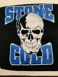 Stone Cold Steve Austin Stomping Mudholes WWE Authentic Mens Shirt Large