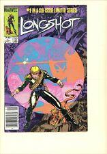 Longshot  #1 VF- Newsstand 1st Longshot, Mojo, & Spiral. Arthur Adams cover art!