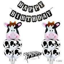 Cow Balloons Kit Birthday Decor Farm Party