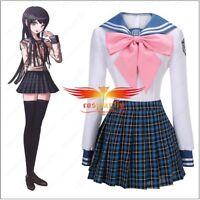 Danganronpa Dangan-Ronpa Sayaka Maizono Girl's Sweet PrincessDress Cosplay Skirt