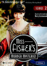 Miss Fishers Murder Mysteries: Series 2 (DVD, 2014, 4-Disc Set) FREE SHIPPING