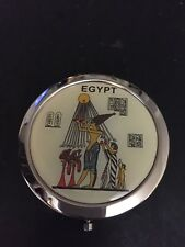Beautiful Egyptian Queen Cleopatra Foldable Mirror Great for Make up Bag Egypt