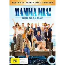 Mamma Mia! Here We Go Again DVD R4 New & Sealed Sing Along Edition