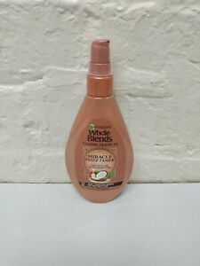 Garnier Whole Blends Taming Leave-In, 10-in-1 Smoothing Remedy for Frizzy Hair