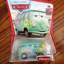 '05, Disney Pixar/Mattel Cars, Filmore Vw Microbus w/Errors, Nib, Mint Condition