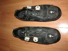 used SPECIALIZED S-Works EVO MTB XC Mountain Bike Cycling Shoes Black 46 12.25