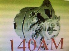 140 HIGH OUTPUT CHEVROLET GM CHROME SBC BBC CHEVY 1 WIRE ALTERNATOR Corvette