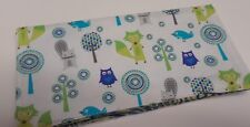 Squirrel Fox Owl Checkbook Cover Document Coupon Cash Holder USA Ready-Made