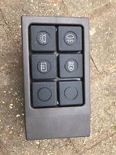 Range Rover Classic Light Switch Panel Fascia MUC4574 Rhd