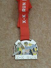 X Men Virtual Run Race Medal