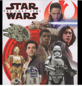 STAR WARS THE LAST JEDI  CHOOSE YOUR STICKERS BUY 4 GET 10 FOR FREE